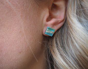 Stud Earrings Mosaic   €15