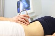 Ultraschall vom Bauch. Praxis Knigge.