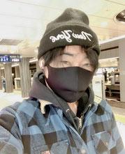 南風 一斗黒マスク画像その2
