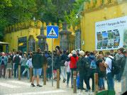 Besucheransturm Sintra