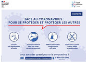 CORONAVIRUS (COVID-19) - Info prevention - Gestes barrières