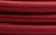 Textilkabel Bordeaux