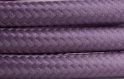 Textilkabel Violett hell