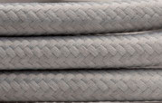 Textilkabel grau