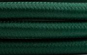 Textilkabel Dunkelgrün