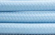 Textilkabel light blau