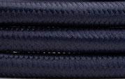 Textilkabel Dunkelblau