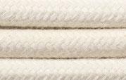 Textilkabel NaturWeiß