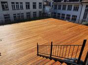 Terrassenboden Kebony  Wabern