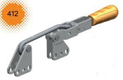 Verschlussspanner / Bügelspanner C-Befestigung mit senkrechtem Fuß