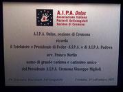 Commemorazione in occasione della XV Giornata Nazionale a Cremona - 21/09/2013