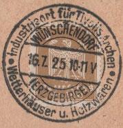 Bild: Teichler Wünschendorf Erzgebirge Wetterhäuschen