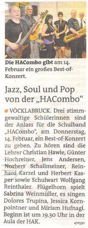 Vöcklabrucker Bezirksrundschau, 14.2.2013