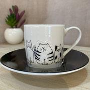 エスプレッソカップ【コーニッツ】可愛いネコ達 ¥1,980