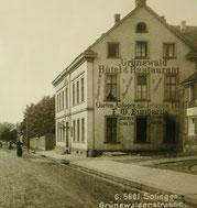 Haus Bungards existierte bis nach dem 2. Weltkrieg