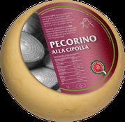 pecorino maremma new taste sheep sheep's cheese dairy caseificio tuscany tuscan spadi follonica 1200g 1.2kg italian origin milk italy matured aged flavored flavor alla cipolla onion aromatic