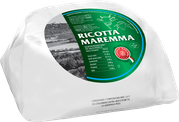 ricotta maremma mixed with cream produced with milk from cow and sheep fresh light italian tuscan cheese tuscany italy  paper wrapped 1500g