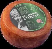 maremma sheep cheese dairy pecorino caseificio tuscany tuscan spadi follonica block 1200g 1.2kg italian origin milk italy aged matured etrusco red classic