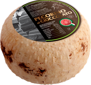 pecorino maremma new taste sheep sheep's cheese dairy caseificio tuscany tuscan spadi follonica block 600g 0.6kg italian origin milk italy matured aged flavored flavor al cioccolato chocolate dark aromatic