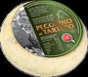 maremma new taste sheep sheep's cheese dairy caseificio tuscany tuscan spadi follonica block 1200g 1.2kg italian origin milk italy matured aged flavored flavor pecorino al tartufo truffle aromatic