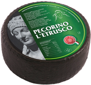 maremma sheep cheese dairy pecorino caseificio tuscany tuscan spadi follonica block 2000g 2kg italian origin milk italy aged matured etrusco black classic