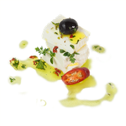 maremma mixed mix cow cow's sheep sheep's cheese dairy caseificio tuscany tuscan spadi follonica label italian origin milk italy fresh baccellone formaggio misto receipts suggestion idea preparation chili pepper hot olive oil herbs