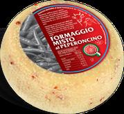 maremma mixed mix cow cow's sheep sheep's cheese dairy caseificio tuscany tuscan spadi follonica block 1200g 1.2kg italian origin milk italy fresh chili red hot pepper flavored flavor formaggio misto al peperoncino