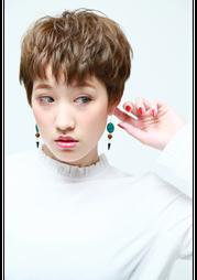 #ショートスタイル#ハイトーンカラー#横浜#石川町#美容室