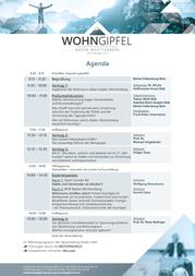 Sehen Sie hier die Agenda der Veranstaltung am 05.02.2019