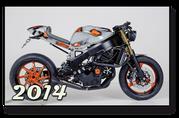 Honda CBR 900 Fireblade Ristretto Cafe Racer komplett Umbau Einarmschwinge