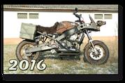 Honda CBR 900 Fireblade Mad Max Umbau rost rusty