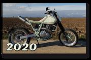 SWITSH CUSTOMS SUZUKI DR 650 SP46, 1996, Beach Tracker, Scrambler, Umbau, Motorradwelt Bodensee 2020, Best Bike Award 2020, Gewinner Metric Bikes