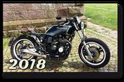 SWITSH CUSTOMS Kawasaki GPZ550UT GPZ 550 UT Cafe Racer Umbau Low Rider Lowrider Classic oldschool