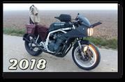 SWITSH CUSTOMS Suzuki GSXR750 GSXR 750Knicker Ratbike Rat Bike Mad Max Survivel