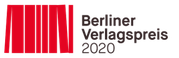 "Logo ""Berliner Verlagspreis 2020"""