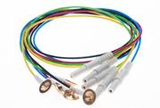Medizinische Zubehör (Elektroden und Pasten) für die Elektroenzephalografie (EEG) und Elektromyographie (EMG)