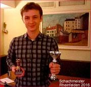 Laurids Stockert, Schachmeister beider Rheinfelden 2016