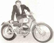 Sammy Miller mit Bultaco Sherpa T