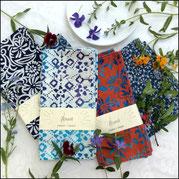 Textiil Block Batik Napkins