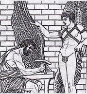 Relief aus der Villa Albani (Rom)