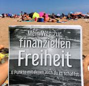 freaky finance, Buch, Mein Weg zur fiannziellen Freiheit, Alex Fischer, Strand