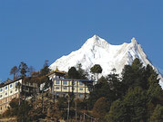 Monastère du Manaslu, Népal