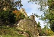 Prieuré de Molhet et château de Padern