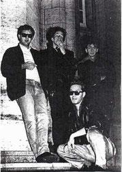 Josch, Dada, Bernd, Fürst Ziegler 1985
