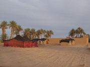 Biwak in Mhamid Marokko - am Tor zur Wüste