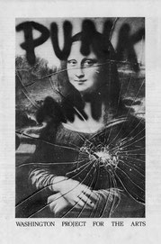 "Punk Art Catalogue front cover: Miller, Ringma & Hoppe, ""Smashed Mona,"" 1978"