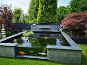 Teichbau mit Scheibe in Ahaus NRW Teich selber bauen Tokuna