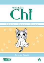 Cover des Buches Kleines Katze Chi Band 6