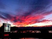 Himmlische Abendstimmung am Zürichsee