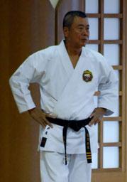 Taira Yoshitaka Hanshi,  10.Dan Präsident WMKA